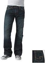 Silver Jeans Men's Nash Dark-Wash Slim Fit Jean