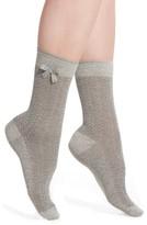 Nordstrom Women's Bow Pointelle Crew Socks
