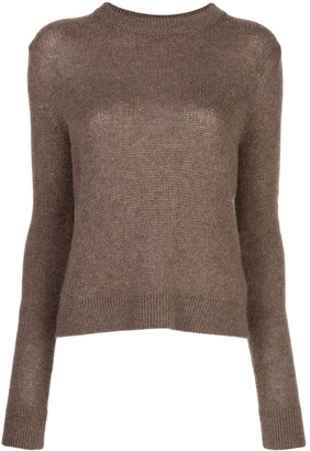 The Row Muriel cashmere slim-fit jumper