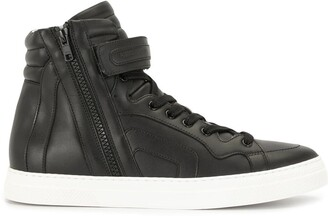 Pierre Hardy Hi-Top Lace-Up Trainers