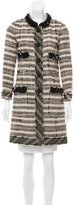 Marc Jacobs Embellished Wool Coat