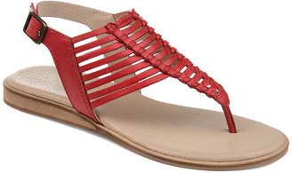 Journee Signature Womens Davis T-Strap Flat Sandals