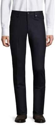 Incotex Moss Sport Flannel Trousers