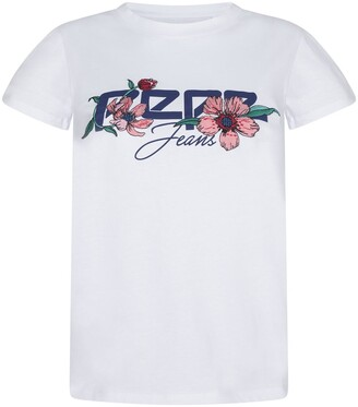 Pepe Jeans Ailissa Embroidered Cotton T-Shirt with Logo