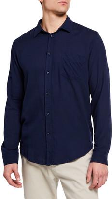 Rails Men's Wyatt Solid Cotton Sport Shirt