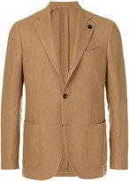 Lardini two button blazer - men - Cupro/Viscose/Camel Hair - 46