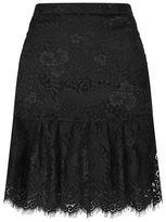 Claudie Pierlot Sonny Peplum Hem Lace Skirt