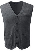 Classic Men's Cotton Wool Vest-Toffee Heather