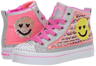 Skechers Flip Kicks - Twi-Lites 2.0 (Little Kid/Big Kid) (Multi) Girl's Shoes