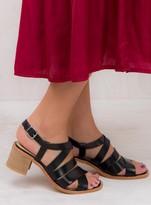 Urge Black Mel Sandals