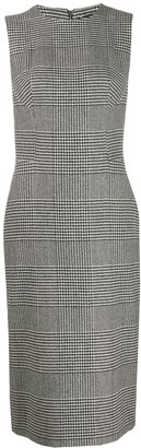 Ermanno Scervino Fitted Plaid Dress