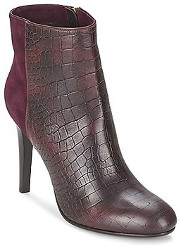 Alberto Gozzi GRINGO MANDORLA women's Low Ankle Boots in Red