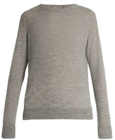 Vince Distressed crew-neck cashmere sweater