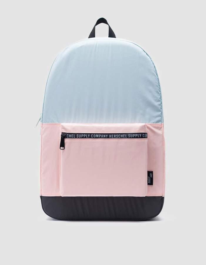 Herschel Packable Woven Daypack in Glacier/Cameo Rose/Black