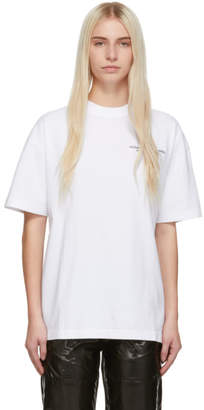 Palm Angels SSENSE Exclusive White Small Palm x Palm T-Shirt