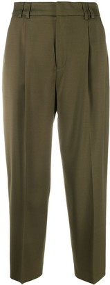 Pt01 Pleated Tapered Trousers