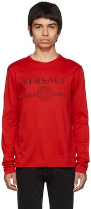 Versace Red Logo T-Shirt