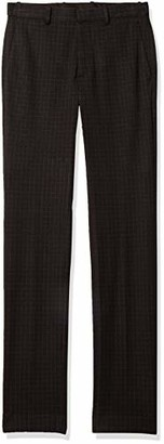 Theory Men's Checkered Dressy Stretch Trouser