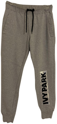 Ivy Park Grey Cotton Trousers