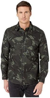 G Star G-Star Scutar Straight Shirt (Wild Rovic/Dark Combat) Men's Clothing