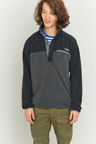 Columbia Mountainside Black 1/4 Snap Pullover Jacket