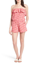 Vineyard Vines Strapless Stretch Knit Romper