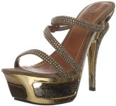 Pleaser USA Women's Deluxe-603/BZS Sandal