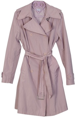 Marella Pink Trench Coat for Women