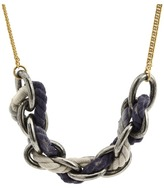 Juicy Couture N-Dip Dyed Rope Chain Necklace (Multi) - Jewelry