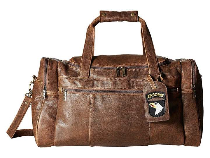 Scully Squadron Duffel w/ 81 Aero Squadron Luggage Tag
