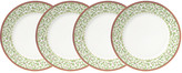 Mikasa Holiday Traditions Set of 4 Dinner Plates