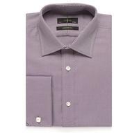 J By Jasper Conran Big And Tall Plum Striped Print Tailored Fit Shirt