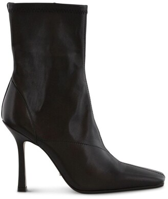 Tony Bianco Halsey Black Como Ankle Boot