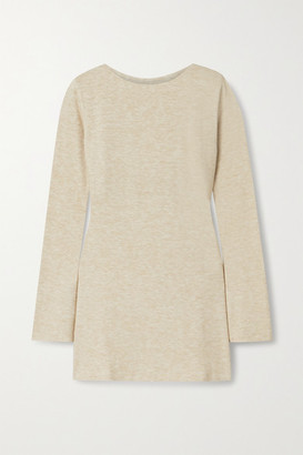 AAIZÉL Melange Knitted Tunic - Sand