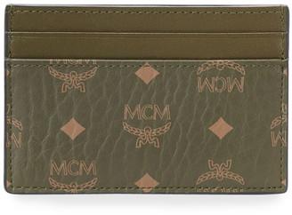 MCM Men's Signature Visetos Mini Card Case