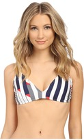 Nautica Sails Up Rem Soft Cup Sports Bra NA32176