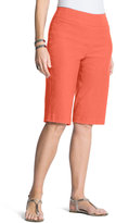 Chico's Brigitte Shorts in Passion Fruit Coral - 11 Inch Inseam