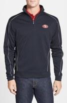 Cutter & Buck Men's 'San Francisco 49Ers - Edge' Drytec Moisture Wicking Half Zip Pullover