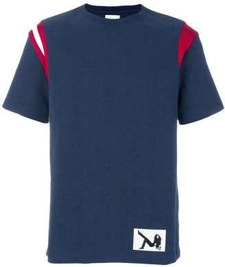 Calvin Klein Jeans T-shirt with contrast shoulders