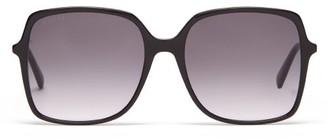 Gucci Oversized Square Acetate Sunglasses - Black