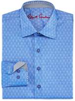 Robert Graham Boys' Gene Motif Dress Shirt - Big Kid