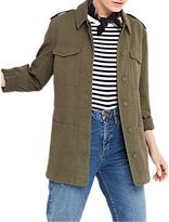 Oasis Kate Utility Jacket, Khaki