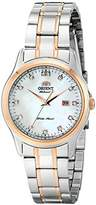 Orient Women's FNR1Q001W0 Charlene Analog Display Japanese Automatic Silver Watch by