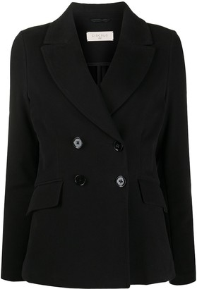 Circolo 1901 Double-Breasted Loose-Fit Blazer