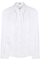 Miu Miu Cotton-blend shirt