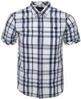 Fred Perry Bold Check Shirt Blue