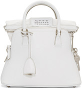 Maison Margiela White Grained Leather Bag
