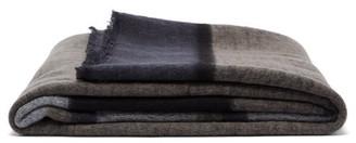 Denis Colomb Hokkaido Striped-cashmere Blanket - Grey Multi