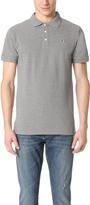 MAISON KITSUNÉ Tricolor Fox Patch Polo Shirt