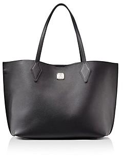 MCM Yris Medium Leather Shopper